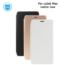 For Cubot max Leather Case Flip Cover With Silicon Case Original Cellphone Protective Case For Cubot max Phone Accessory(China)