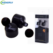 Mini Twins X1T Wireless Bluetooth Earphone Cordless Bluetooth Stereo Earbuds Headset Long talking time Earphones With Microphone(China)
