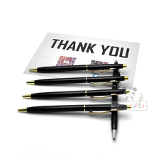 Metal pen is the best gift for men /luxury gifts with your own artwork and messages /Cheap giveaways free stuff(China)