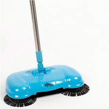 2016 New Home Cleaning Tools Handheld Sweeper Broom Mops 360 Degree Rotatable Cleaner for home Hard Floors Dust Cleaner(China)