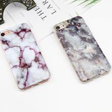 Buy Anti-Knock Marble TPU Phone Cases iPhone 7 8 X Case Luxury Brand Original Soft Silicone Case iPhone X 6 6s SE 5 5s Girl for $1.25 in AliExpress store