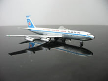 Out of print net model-500 1: 500 American Flying Tiger Line Boeing 707 Alloy aircraft model Favorites Model(China)