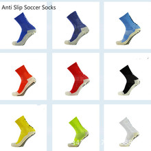 New Football Socks Anti Slip Soccer Socks Men Good Quality Cotton Calcetines The Same Type As The Trusox ZK008