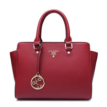 woman Genuine Leather bag New fashion cow leather shoulder bag Ladies handbag woman Party bay HY-6565