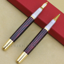 Promotion 2pcs/lot JINHAO 250 one Ballpoint/Ball point/Roller ball Pen and one M ink fountain pen for gift Free Shipping Pens