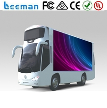 2015 Leeman Outdoor mobile advertising LED display screen truck,Outdoor Mobile LED Display Advertising Vehicle