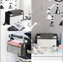 Portable Baby Diaper Nappy Changing Storage Bag Organizer Insert Liner Bag Storage Bags(China)