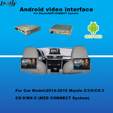 Android Car DVD GPS Navigation System for Mazda Car MZD Connect System