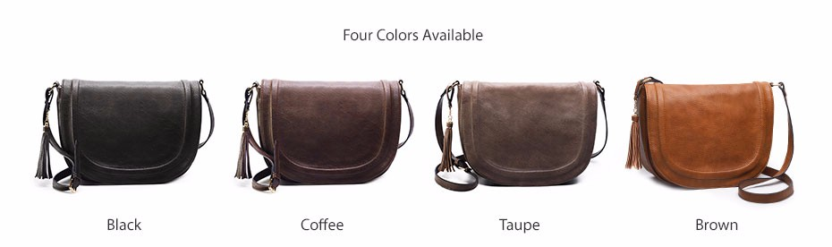 AMELIE GALANTI casual crossbody bag soft cover solid saddle fashion women messenger bags high quality shoulder bag for women (4)