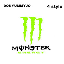Hot Sale Cool Monster Car Handle Stickers Car styling Covers Accessories Motorcycles Wall Decals Reflective Vinyl Styling