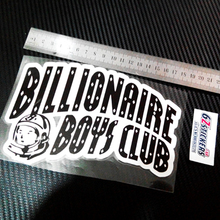 Billionaire doodle skate car motorcycle reflective car stickers(China)