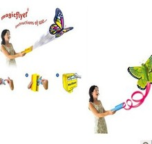 Magic flyer/ the flying butterfly , stage magic, magic trick free shipping (instruction of use)