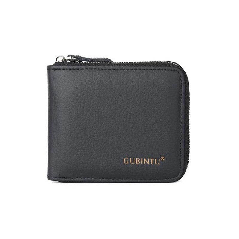 GUBINTU Vintage Men Leather Cowhide Bifold Wallet ID Credit Card Holder Coin Purse High Quality Vintage Designer Free Shipping<br><br>Aliexpress
