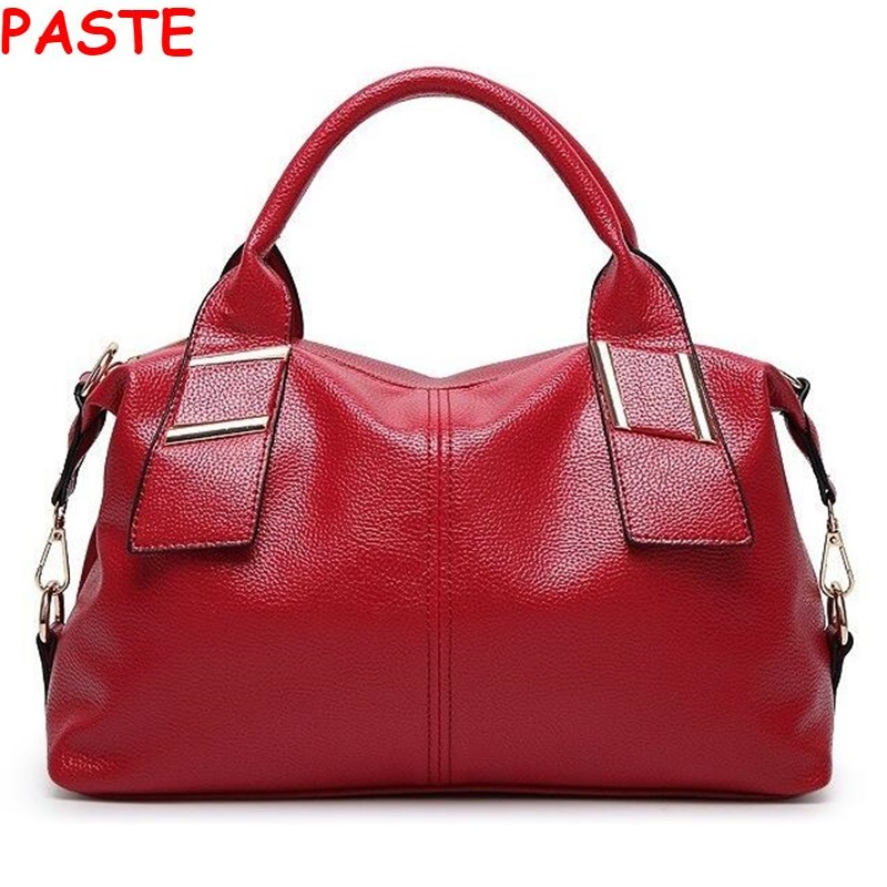PASTE Russia winter Women messenger bag Women's leather handbags new fashion Female bag Totes High quality luxury Shoulder Bags(China (Mainland))