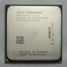 Original AMD CPU Phenom X4 9550 processor 2.2G AM2+/ 940 Pin /Dual-CORE / 2MB L2 Cache/95w scattered piece