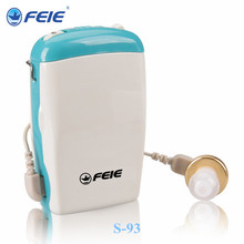 Anniversary Gift body worn hearing aid hearing amplifier telephone device hearing S-93(China)