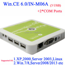 N380 thin clients windows 7 support with 2 COM port embeded WIN.CE 6.0