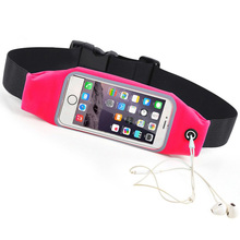 For Nokia lumia 640 xl Universal 4.7-5.5 Waist Bag Cover Phone Sport Case For Nokia lumia 650 Capa GYM  Waterproof Running Pouch