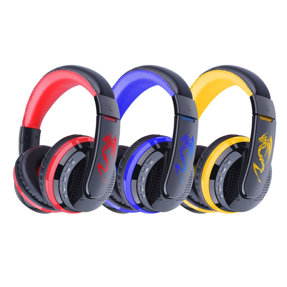 MX666 Bluetooth Headphones Stereo HIFI Wireless Earphones Bests Gaming Headset With Microphone For Xiaomi Lenovo Sony PS3<br><br>Aliexpress