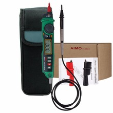 Aimometer MS8211 Digital Pen Type Multimeter Handheld AC/DC Voltage Current Meter DMM Non-contact Voltage NCV Detector Tester