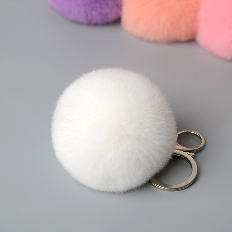 rex rabbit pompom keychbains (3)