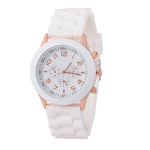 Superior Unisex Silicone Rubber Jelly Gel Quartz Analog Sports Women Wrist Watch Apr5 Levert Dropship