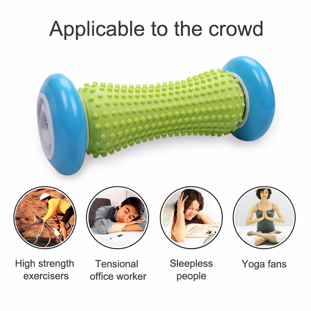 Foot Hand Massage Roller Trigger Point Deep Tissue Physical Therapy For Plantar Fasciitis Heel Foot Arch Pain Relief Yoga Fitness (1)