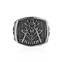 RN3266 Free Shipping 316L Stainless Steel Masonic Ring for Men, Master Masonic Signet Ring, Free Mason Ring Jewelry
