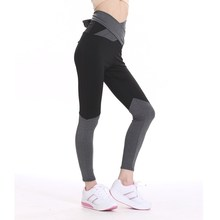 2017 Womens Sporting Leggings Black The belt Workout Women Fitness Legging Pants Slim Jeggings Wicking Force Exercise Clothes