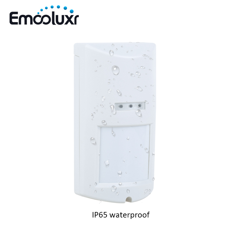 Outdoor PIR Motion Sensor Wireless 4-Element Pet Immunity PIR Passive Infrared Intrusion Motion Detector Waterproof Alarm Sensor<br>