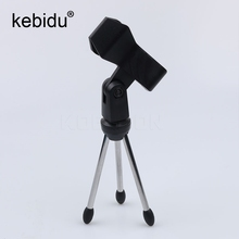 Kebidu 3.5mm Wired Condenser USB Microphone Broadcasting Microphones For Computer Karaoke Conference Amplifier Notebook