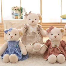 1 Pcs Love Bear Plush Toy Teddy Bears Three Colors High Quality Selling Toys For Kids 45cm/65cm