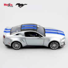 1:24 Children maisto 2014 ford mustang metal diecast racing miniaturas car models vehicle collection gift for display kids toys