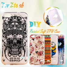 S6 Soft TPU Case For ZTE Blade S6 Q5 5inch case cover Silicone Phone Case Cover Shell For ZTE Blade S6 Cell Phone  Back Cover
