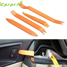 4 unids Auto coche Radio puerta Clip Panel ajuste Dash Audio Removal Installer Pry Tool(China)