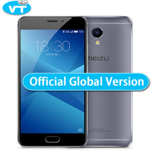 "Original Meizu M5 Note Global version 2.5D Glass 4G LTE Cell Phone Helio P10 Octa Core 5.5"" FHD 3GB 16GB 32GB ROM Fingerprint(China)"