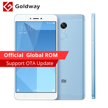 "Original Xiaomi Redmi Note 4X Pro Prime Mobile Phone 4GB RAM 64GB ROM Snapdragon 625 Octa Core 5.5"" FHD 4100mAh Fingerprint ID(Hong Kong)"