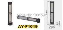 20pcs wholesale top feed mpi fuel injector filter 35*6.6*2.9mm metal stainer for gasoline auto parts AY-F1019(China)