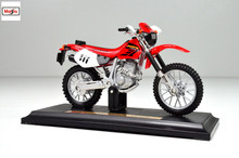MAISTO 1:18 Honda XR400R XR 400R MOTORCYCLE BIKE DIECAST MODEL TOY NEW IN BOX FREE SHIPPING