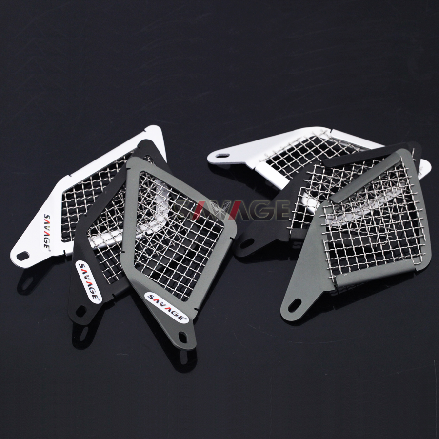 For BMW R1200GS LC 2013-2016 14 15 Motorcycle Aluminum &amp; Stainless Steel Air Intake Grill Guard Cover Protector<br>
