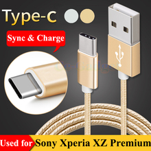3FT USB Type C Data Sync & Fast Charge Cable for Sony Xperia XZs G8231 G8232 , XZ Premium G8141 G8142 , L1 G3311 / L1 Dual G3312