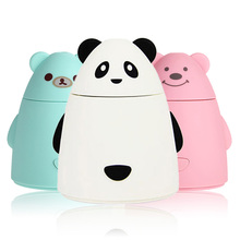 Newest Aroma Diffuser Aromatherapy Air Purifier LED USB Cartoon Panda Humidifier