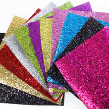 David accessories 20*34CM Patchwork Glitter Leather Fabric for Wallpaper Covering for Bags Shoes, DIY Decoration Materials,43367