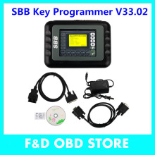Newest SBB Silca V33.02 SBB Key Programmer Immobilizer For Multi Brand Cars No Need Tokens 9 Languages Key Pro Maker Transponder