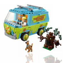 ZXZ The Mystery Machine Bus Legoing Scooby Doo Series 305 Pcs Bricks Building Blocks Toys Compatible With Lepin Legoing 75902(China)