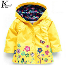 Autumn Boy Coats Girls Jackets Children Clothing Baby Raincoat Waterproof Coat Jackets Girls Outerwear Costume For Kids Clothes(China)