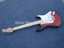 . Guitar Show F Stratocaster Yngwie Malmsteen Electric Guitar noiseless pickups & scalloped neck, big wire