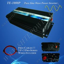 Home power inverter/ dc-ac power inverter/ pure sine wave solar inverter 24v to 230v 1000w