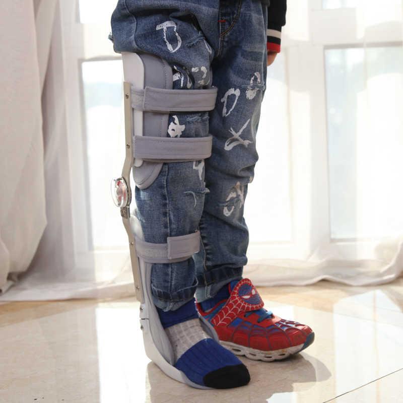 調節可能な子供膝/足関節装具ブレースカスタム x 脚/O 脚膝関節
