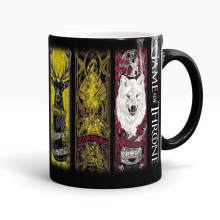 High Quality Game Of Thrones mugs Tribal totem mug color changing magic mugs  Tea coffee mug cup 1492for friend children gift